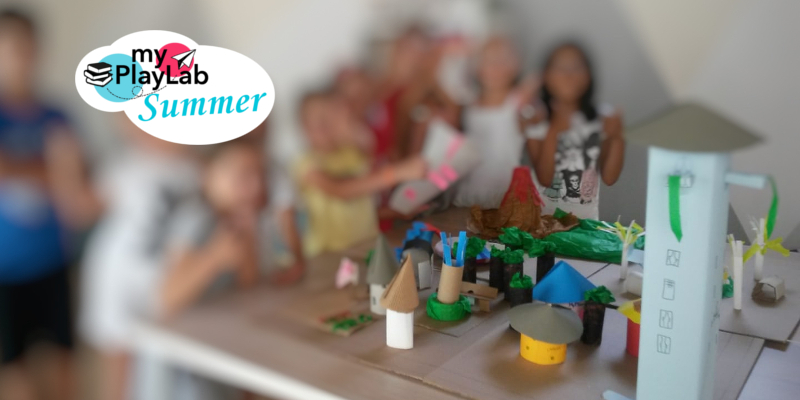 My PlayLab Summer laboratori creativi e meteorologia