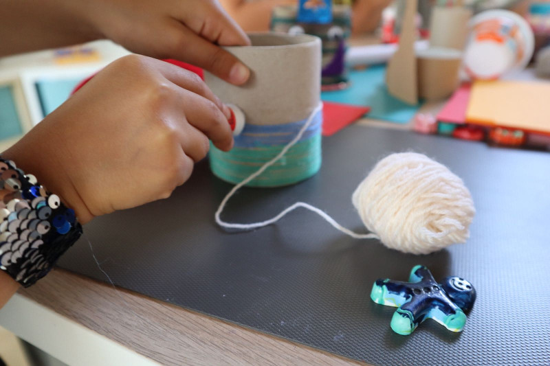 My PlayLab summer laboratori creativi ceramica stoffa riciclo