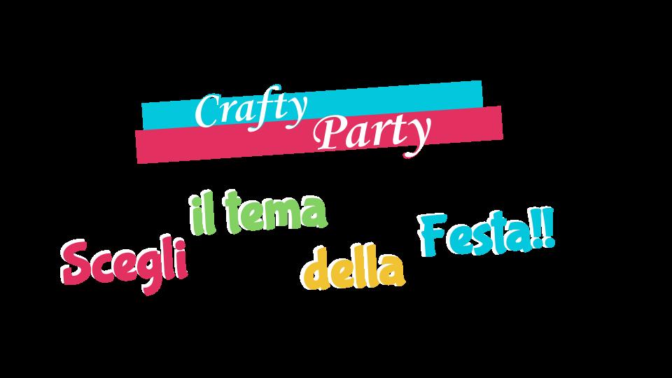 My PlayLab CraftyParty feste creative a tema
