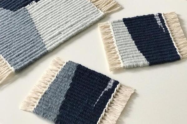 laboratorio tappetini al telaio